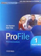 Profile 1 SB - engleski jezik, udžbenik za 1. godinu srednje škole