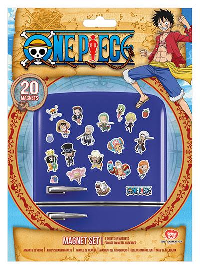 Set magneta - One Piece, Chibi