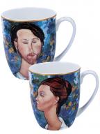 Set šolja - Modigliani, Lunia Czechowska & Leopold Zborowski