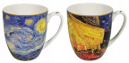 Set šolja - Van Gogh, Starry night & Cafeterraceatnight