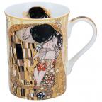 Šolja - Classic, Klimt, The Kiss, Cream