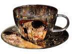 Šolja sa tacnom - Klimt, The Kiss