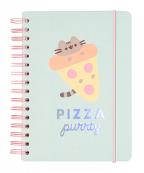 Agenda A5 - Pusheen, Foddie Pizza Party Hard
