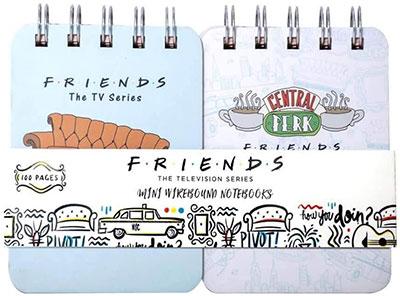 Blokčić A6 Set 2 - Friends, Wirebound mini