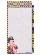 Blokčić sa magnetom i olovkom - Frida Kahlo
