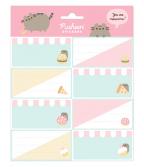 Nalepnice set 8 - Pusheen, Foodie, Collection