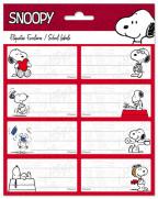 Nalepnice set 8 - Snoopy