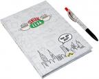 Set agenda i olovka - Friends
