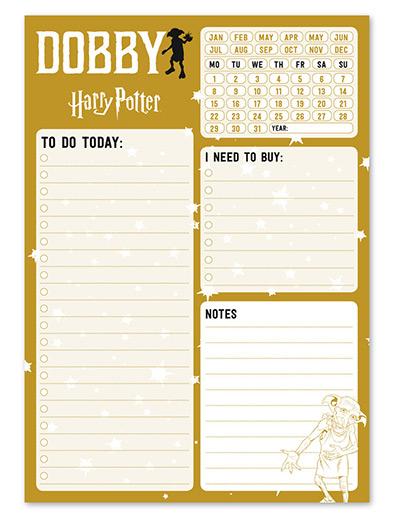 Stoni planer - HP, Dobby, To Do