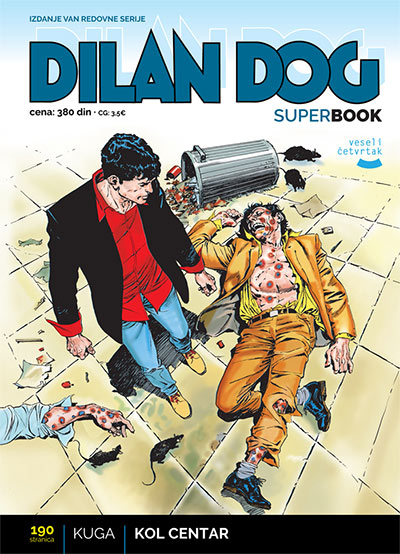 Dilan Dog superbook 59 - Kuga / Kol centar