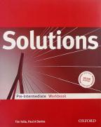 Engleski jezik 1, Solutions Pre Inter WB, radna sveska za prvi razred srednje škole