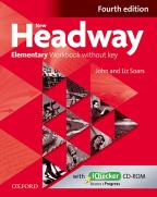 Engleski jezik 4, New Headway, Elementary WB key+IC., radna sveska za četvrti razred srednje škole