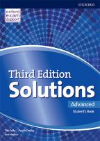 Engleski jezik, Solutions 3rd edition Advanced, udžbenik za četvrti razred srednje škole
