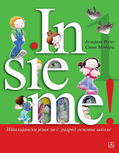 Italijanski jezik 1, Insieme! 1, udžbenik za prvi razred osnovne škole