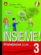 Italijanski jezik 3, Insieme!, udžbenik za treći razred osnovne škole