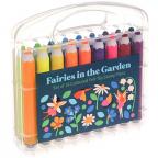 Flomasteri - set 18, Fairies In The Garden