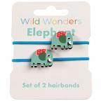 Gumice za kosu - set 2, Wild Wonders, Elephant