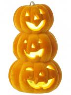 HW - Lampa, Trio of Pumpkin Stack