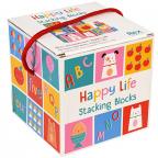 Kocke za slaganje - Happy Life