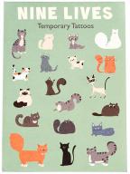 Privremene tetovaže - set, Nine Lives