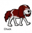 hot dogs - chuck bookmark