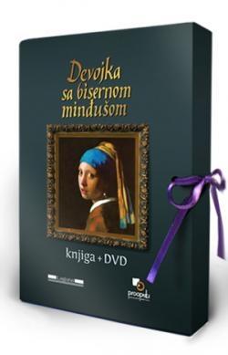 Devojka sa bisernom minđušom, knjiga + dvd