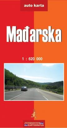 Mađarska Auto Karta Grupa Autora Delfi Knjizare Sve Dobre
