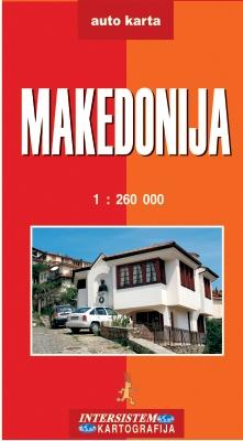 Makedonija Auto Karta Grupa Autora Delfi Knjizare Sve