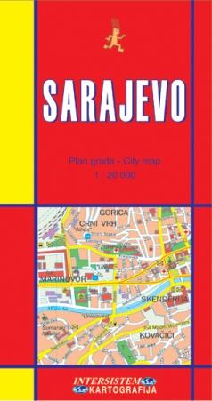 Sarajevo Plan Grada By Miljenko Jergovic