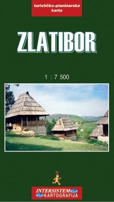 Zlatibor Turisticka Karta Grupa Autora Delfi Knjizare Sve