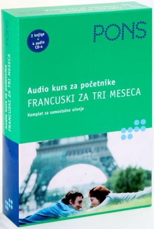 FRANCUSKI ZA TRI MESECA - Audio kurs