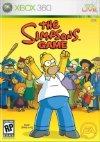 xbox360 the simpsons game