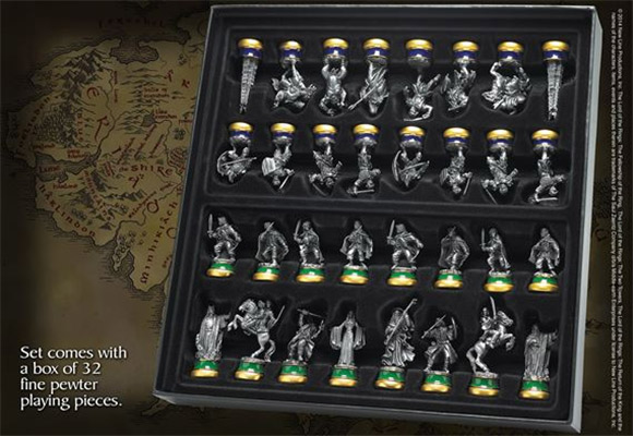 laguna the lord of the rings sah collectors chess 1-1