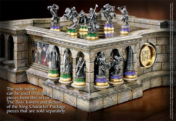laguna the lord of the rings sah collectors chess 1-2