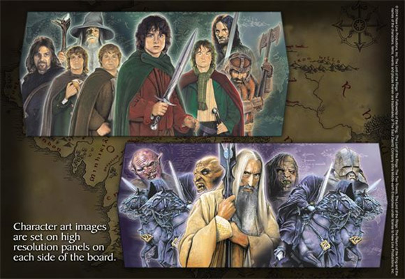 laguna the lord of the rings sah collectors chess 1-4