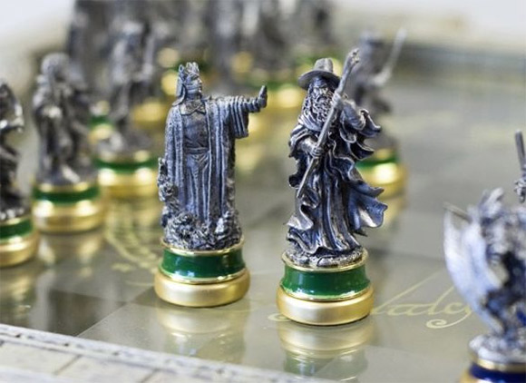 laguna the lord of the rings sah collectors chess 1-7