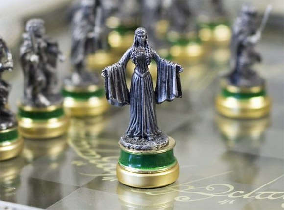 laguna the lord of the rings sah collectors chess 1-8